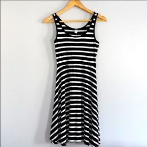 Old Navy Striped Tank Top Dress